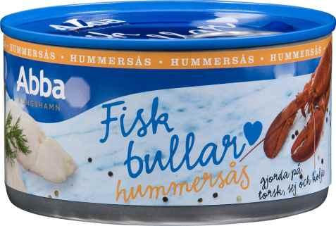 Bilde av Abba fiskbullar i hummersås.