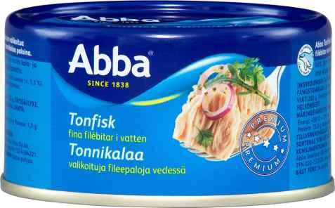 Bilde av Abba tonfisk i vann.