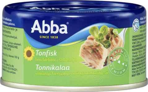 Bilde av Abba tonfisk i solrosolja.