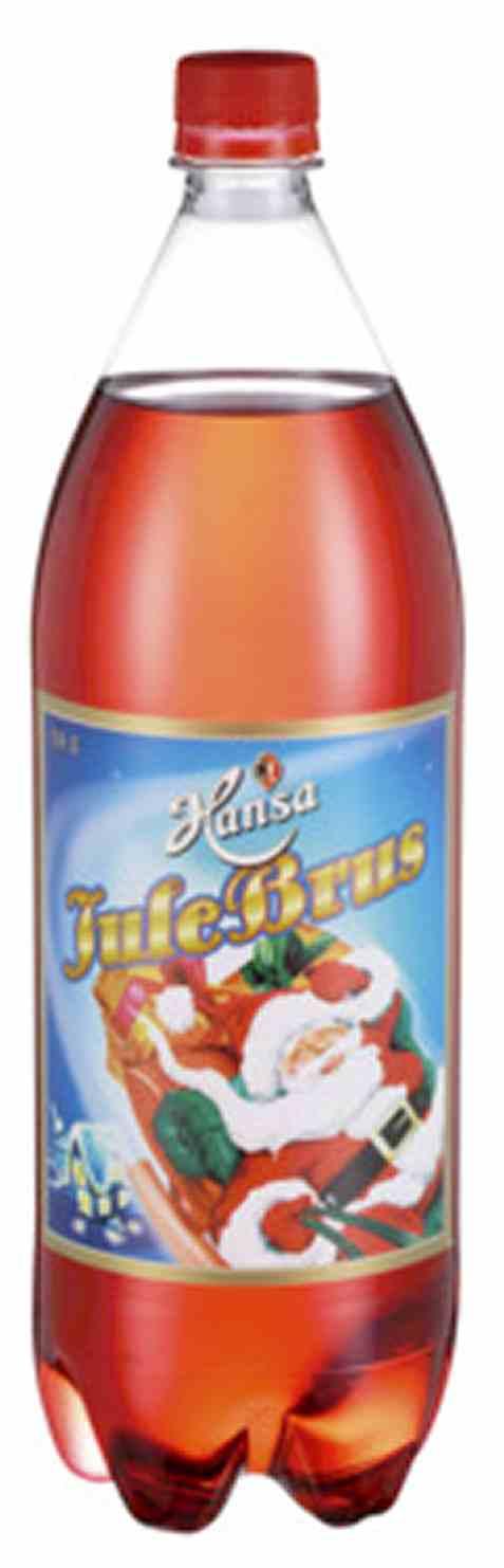 Bilde av Hansa julebrus 1,5l flaske.