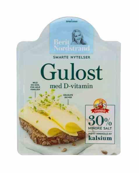 Bilde av Berit Nordstrand Gulost med D-vitamin.