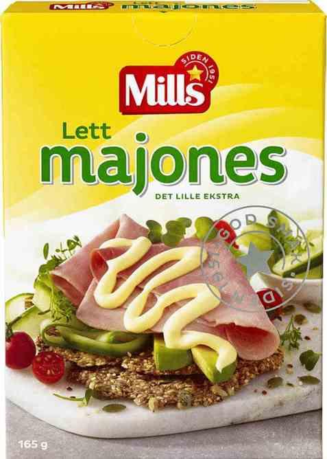 Bilde av Mills lett majones.