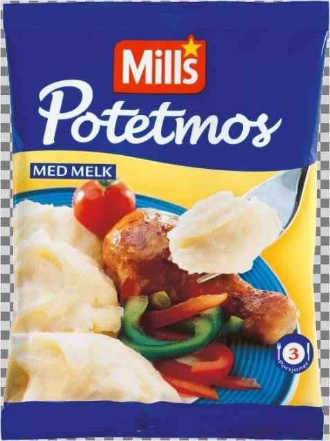 Bilde av Mills potemos med melk.