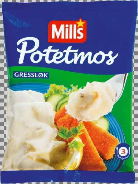 Bilde av Mills potemos med gressløk.