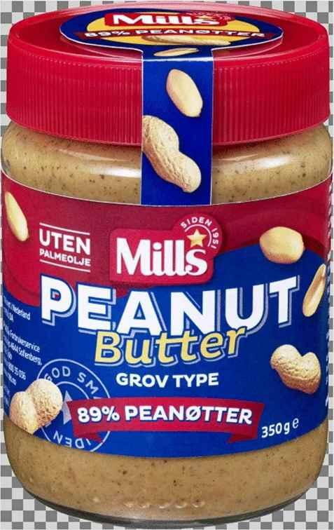 Bilde av Mills Peanut Butter.