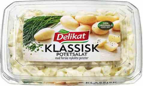 Bilde av Delikat klassisk potetsalat.