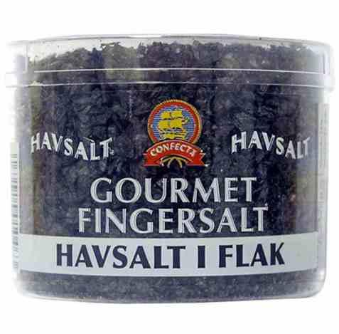 Bilde av Confecta Gourmet Fingersalt sort.