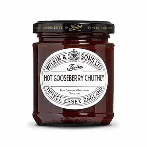 Bilde av Wilkins and Sons hot gooseberry chutney.