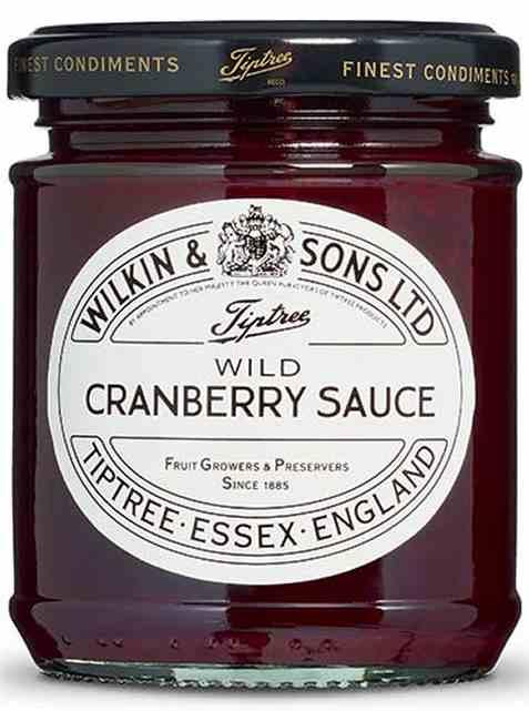 Bilde av Wilkins and Sons økologisk wild cranberry sauce.