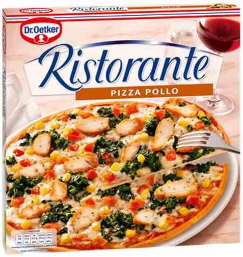 Bilde av DrOetker Ristorante Pizza pollo.