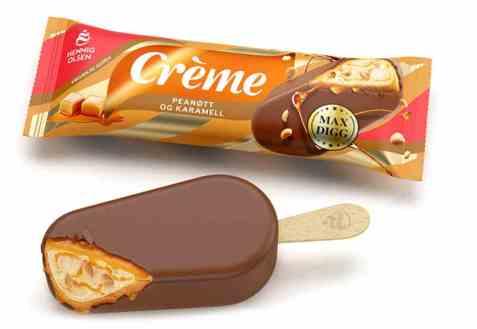 Bilde av Hennig Olsen Crème peanøtt og karamell.