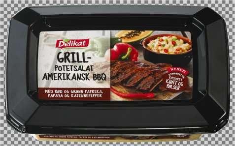 Bilde av Delikat potetsalat grill amerikansk BBQ.