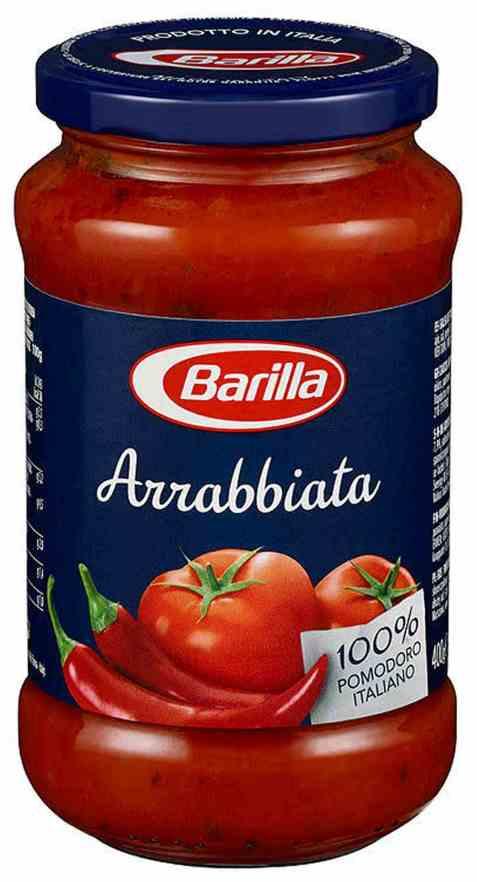 Bilde av Barilla pastasaus arrabaiata.