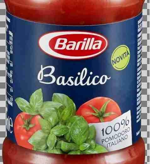 Bilde av Barilla pastasaus basilikum.