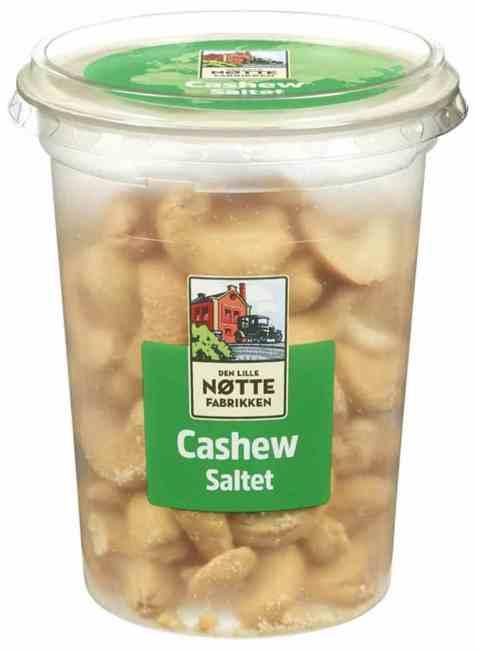 Bilde av Den Lille Nøttefabrikken saltede cashewnøtter.