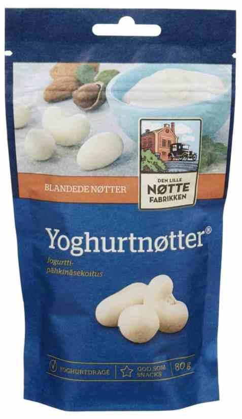 Bilde av Den Lille Nøttefabrikken Yoghurtnøtter 80gr.