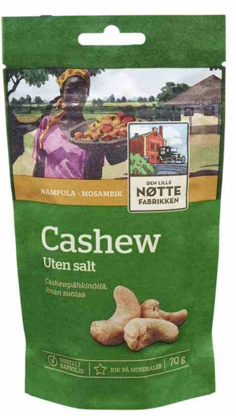 Bilde av Den Lille Nøttefabrikken cashew usaltet.