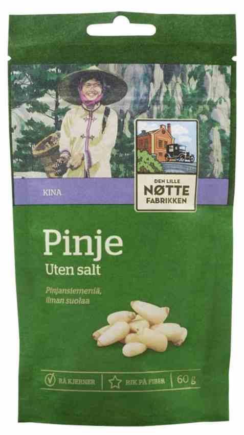 Bilde av Den Lille Nøttefabrikken Pinjekjerner.