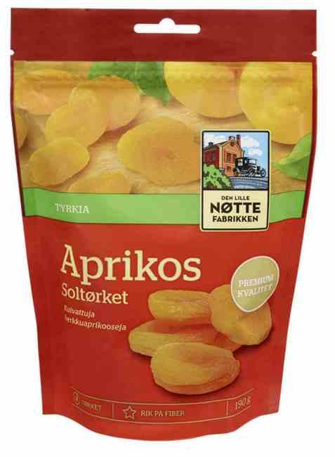 Bilde av Den Lille Nøttefabrikken aprikoser.