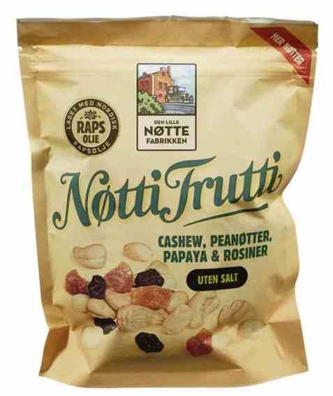 Bilde av Den Lille Nøttefabrikken Nøtti Frutti.