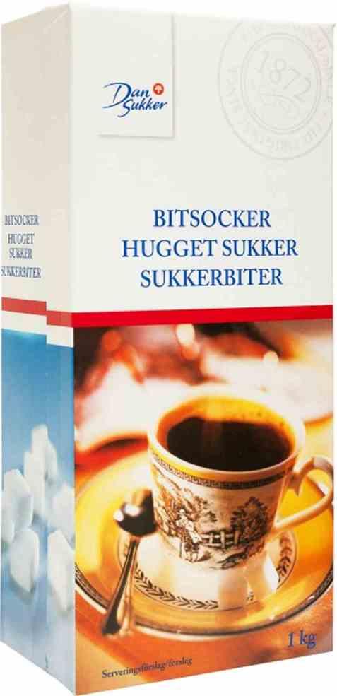 Bilde av Dansukker sukkerbiter.