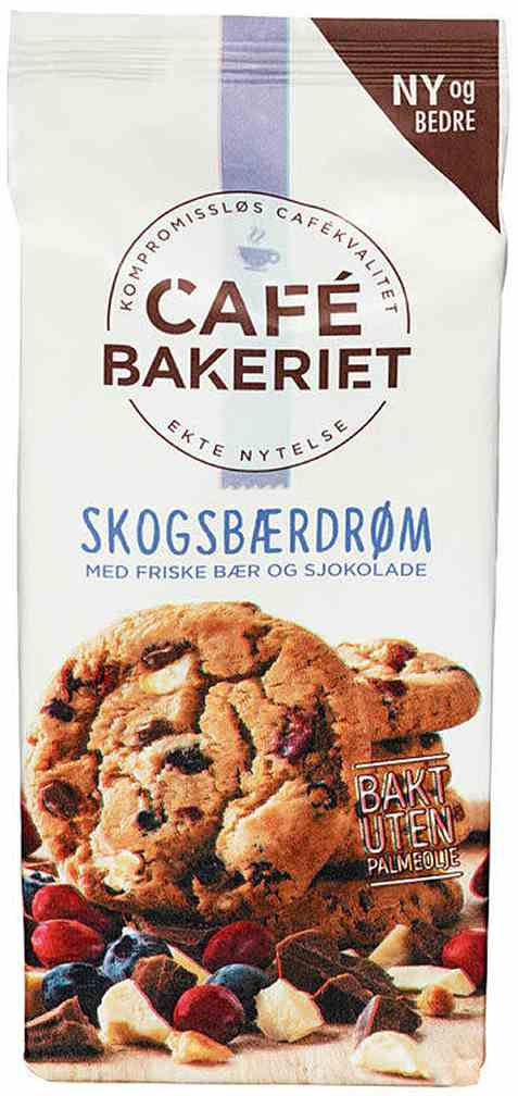 Bilde av Sætre cafe bakeriet skogsbærdrøm.