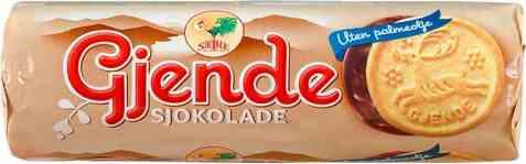Bilde av Sætre Gjende med sjokolade.