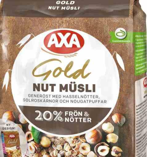 Bilde av AXA gold musli nut.