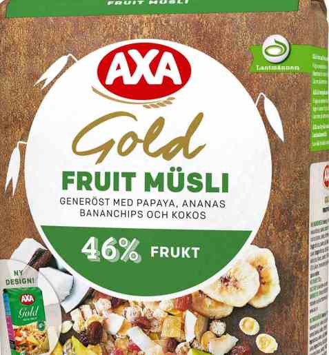 Bilde av AXA gold musli fruit.