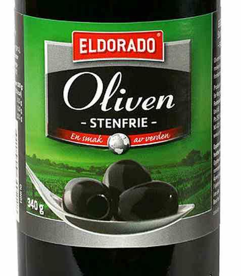 Bilde av Eldorado oliven sort steinfri.