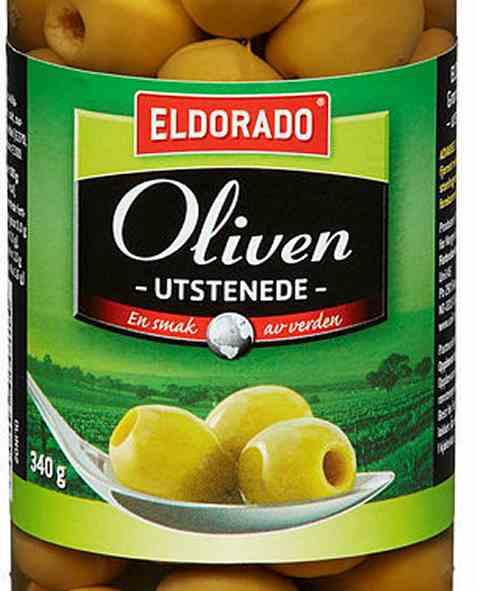 Bilde av Eldorado oliven grønn steinfri.