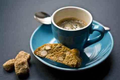 Bilde av Kaffe espresso tilberedt.