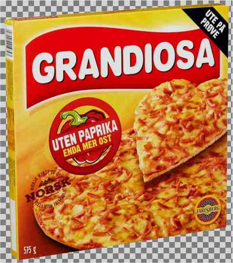Bilde av Grandiosa Uten paprika.