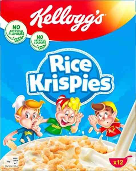 Bilde av Kelloggs Rice Krispies.