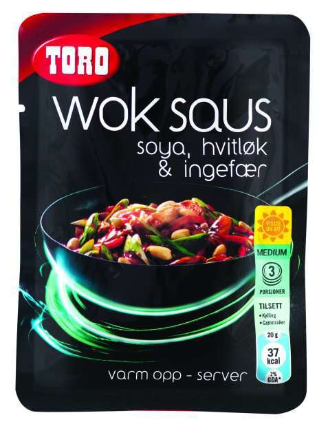 Bilde av TORO Woksaus soya, hvitløk & ingefær.