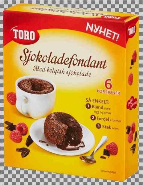 Bilde av TORO sjokoladefondant.
