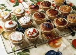 Ferdige muffins