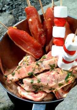 Nakkekoteletter trines matblogg