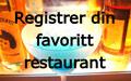 Registrer ny restaurant