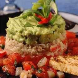 Prøv også Krabbe med avokadopure og tomater.
