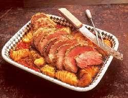 Prøv også Lammestek på potetseng.