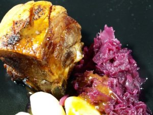 Prøv også Svineribbe med krydret saus.