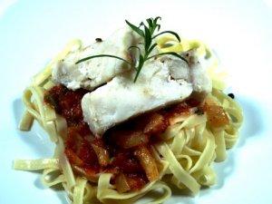 Prøv også Hot´n spicy tagliatelle med ovnsbakt torsk.