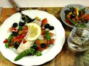Prøv også Dampet sei med tomat- og olivensalsa.