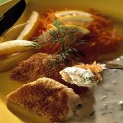Prøv også Panert seifilét med kald urtesaus.