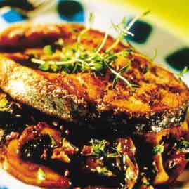 Prøv også Laksekoteletter med sopp i nøttesjy.