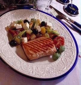 Prøv også Grillstekt ørret med gresk salat.