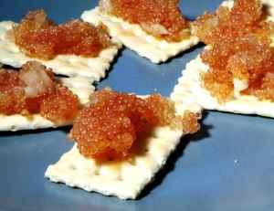 Prøv også Kaviar av rognkjeks 2.