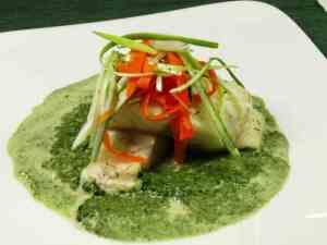 Prøv også Bresert steinbit med grønn saus.