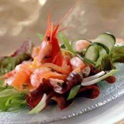 Prøv også Salat med røykalaks og reker.